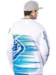 troy lee motocross gear troy lee designs white 2017 gp electro mx jersey troy lee