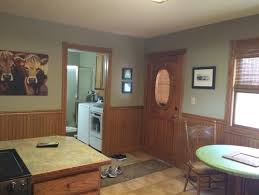 help should i paint the wainscotting on my kitchen walls what color
