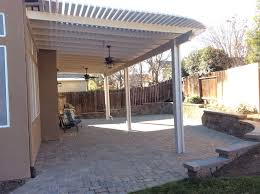 Outdoor Patio Awnings Don U0027s Awnings Patio Cover With Outdoor Fans On Paver Patio Using