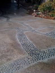 How To Fix Cracks In Concrete Patio by A Creative Low Cost Way To Deal With A Cracking Driveway First
