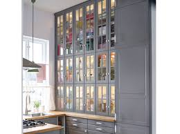 grand placard cuisine résultat de recherche d images pour cuisine placards vitrés noirs