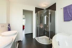 8 ways to make a small bathroom feel bigger redfin use a frameless shower door