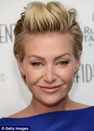 portias hair line has portia de rossi had surgery fans question her changing look