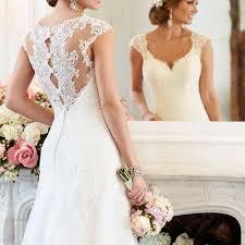 robe de mari e simple dentelle robes de mariée fluide et simple le de la mode