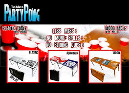 Custom Beer Pong Tables by Collegebudget Deals 20 For 50 Worth Of Custom Beer Pong Tables