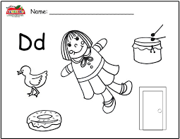 free worksheets the letter d worksheets for preschool free