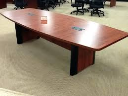 Hon Conference Table Boat Shaped Conference Table Boat Shaped Conference Table With