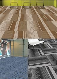 tappeti in moquette striscia boucl礬 sala riunioni moquette 50x50 marrone show room di