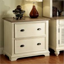 Lateral Wood Filing Cabinet 1 Drawer Lateral Wood File Cabinet In Antique White 158002 Antique