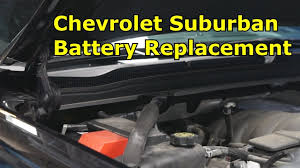 chevrolet suburban battery replacement the battery shop youtube