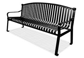 Commercial Outdoor Benches Commercial Park Bench With Curved Back Belson Outdoors