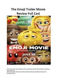 the emoji the emoji trailer movie review full cast new movies onl u2026