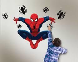 amazon uncle milton spider man wild walls light and sound amazon uncle milton spider man wild walls light and sound room decor toys games