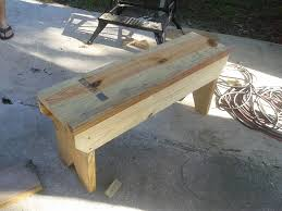 ana white my first woodworking project 5 board bench diy