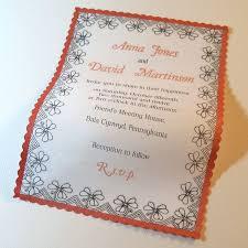 Inexpensive Wedding Programs Best 25 Unusual Wedding Invitations Ideas On Pinterest Save The