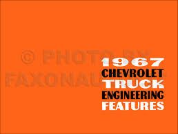 1967 chevrolet truck owner u0027s manual reprint pickup suburban p chassis