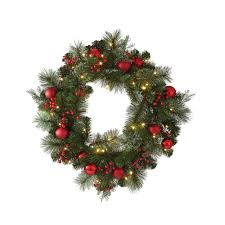 martha stewart living 24 in artificial wreath with