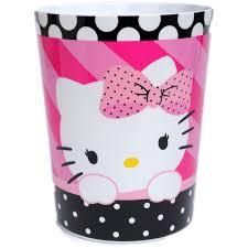 Hello Kitty Halloween Shirt by Hello Kitty Dots J U0027adore Waste Basket Walmart Com