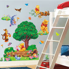 marvelous large winnie the pooh wall stickers home design awesome large winnie the pooh wall stickers photo gallery