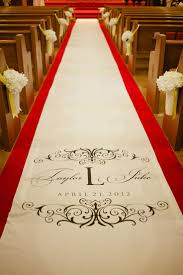 ivory aisle runner custom monogram carpet wedding aisle runner custom aisle runner