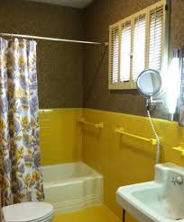 Yellow Tile Bathroom Paint Colors by Magnificent Ideas Yellow Tile Bathroom Wonderful Inspiration 33