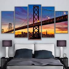 online get cheap bay bridge canvas aliexpress com alibaba group