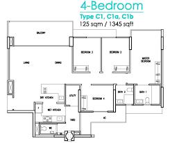 4 Bedroom 2 Bath Floor Plans by 4 Bedroom Floor Plan
