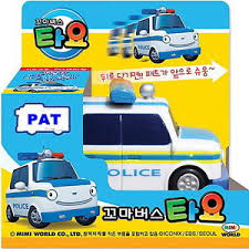 korean tv kids famous animation toy bus tayo pat