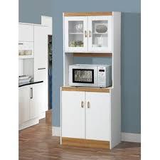 tall kitchen microwave cabinet wayfair