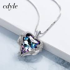 crystals fashion necklace images Cdyle crystals from swarovski necklaces zircon fashion jewelry for jpg