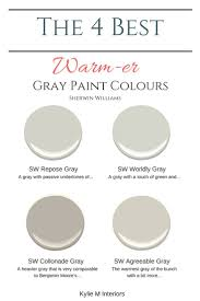 best 25 best gray paint ideas on pinterest gray paint colors the 4 best warm gray paint colours sherwin williams