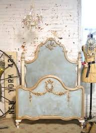 Eloquence One Of A Kind Vintage French Gilt Cane Louis Xvi Style Twin Bed Pair Eloquence Vintage French Gilt Cane Louis Xvi Style Twin Beds