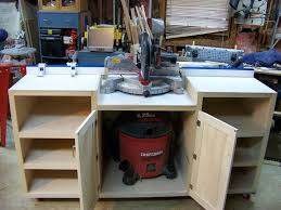 table saw workbench plans simple miter saw table pinteres www kylebalda com miter saw table