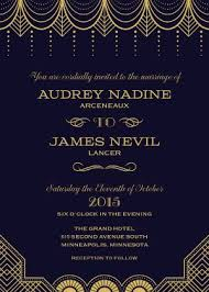 gatsby wedding invitations great gatsby wedding theme black gold wedding
