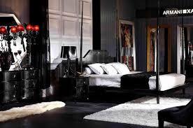 Four Poster Bedroom Sets Armani Xavira Gothic Four Poster Bedroom Set 4965 05 Modern