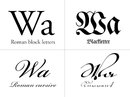 Block Letter Styles by Kurrent U2014500 Years Of German Handwriting Journal Typography Guru