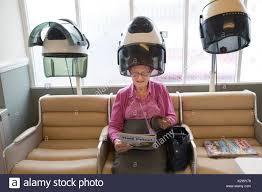 old ladies hair salon old lady hair rollers stock photos old lady hair rollers stock