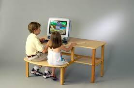 Kid Desk L Computer Desks Throughout Desk Designs 2 Damescaucus