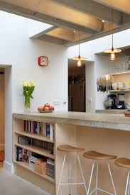 birch kitchen island a kitchen with a birch plywood bookcase living spaces