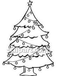 tree black white free christmas tree clipart 2 cliparting
