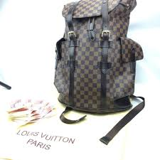 louis vuitton christopher pm designer lv backpack in leytonstone