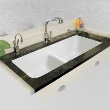 CECO Big Corona Double Bowl Undermount Kitchen Sink - Double bowl undermount kitchen sinks