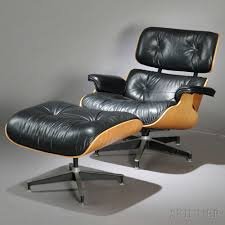 charles and ray eames lounge chair 670 and ottoman 671 sale
