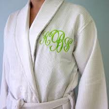 waffle robes for bridesmaids monogrammed waffle robe personalized gifts the plaid pig the