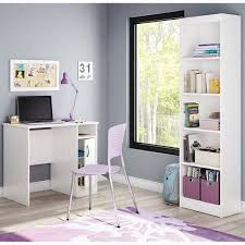 south shore smart basics small desk work desk bookcases and desks on pinterest