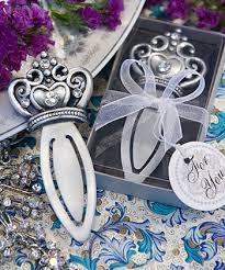 bookmark favors crown design bookmark favors