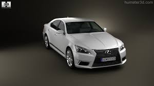 lexus ls 2012 360 view of lexus ls xf40 2012 3d model hum3d store