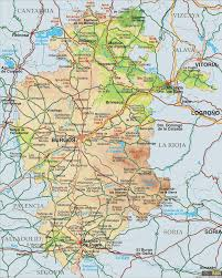 Burgos Spain Map by Burgos Map