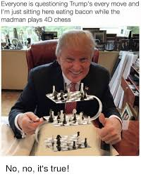 Just Sitting Here Meme - everyone is questioning trump s every move and i m just sitting