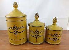retro canisters ebay
